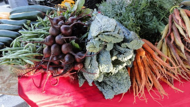 Saline Farmers Market Vegetables
