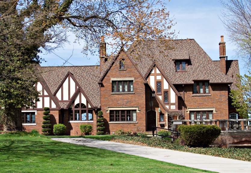 4 reasons to love ann arbor tudor style homes reinhart for Tudor style house for sale