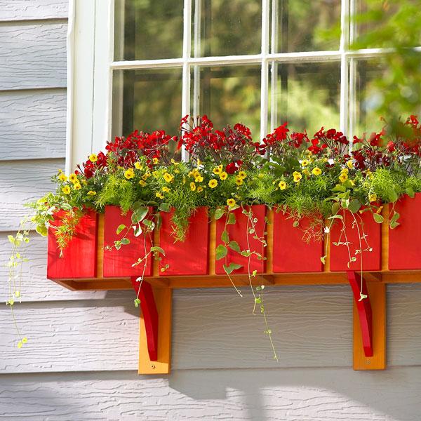 Window Box Planter Ideas: Build A Window Planter Box