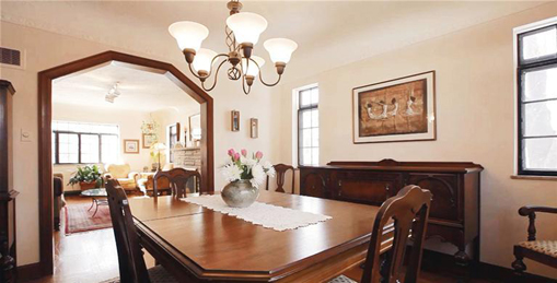 3050 Lakeview Drive Dining Room