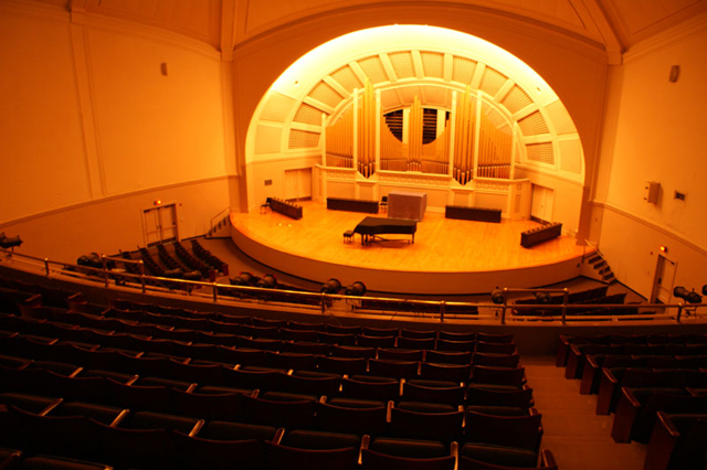 Pease Auditorium at EMU