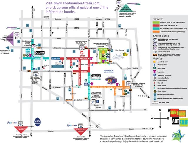 Ann Arbor Art Fair Returns for the 45th Year Reinhart Reinhart