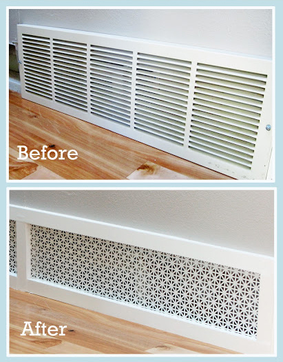 Air grille before & after 2