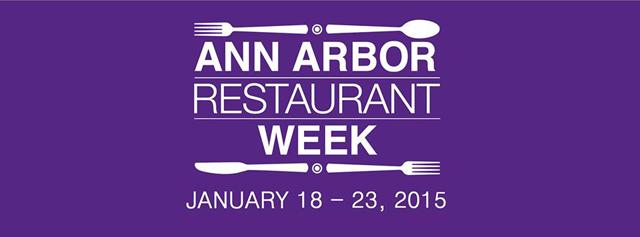 Ann Arbor Restaurant Week 2015