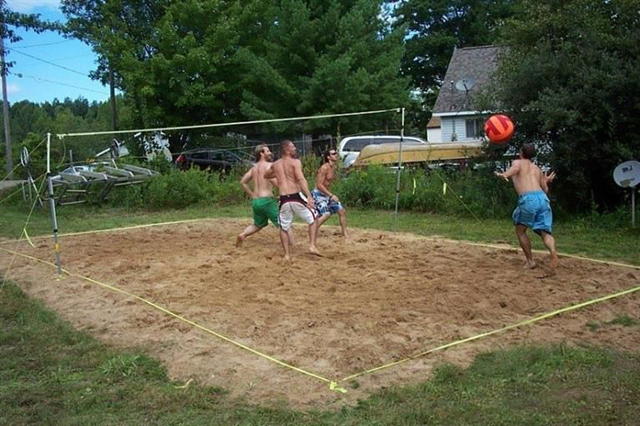 731 Crooked Lake Dr - Volleyball Court