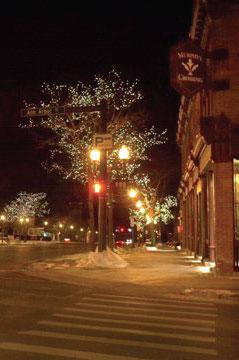 Saline tree lighting