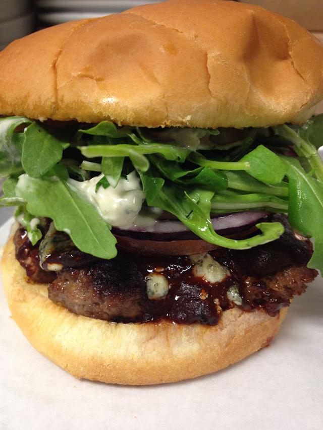 Wurst Bar- Chipotle burger