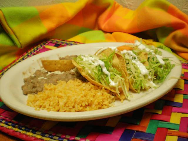 Tacos from La Fiesta Mexicana