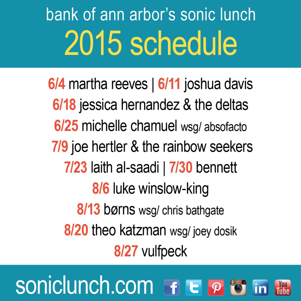 Sonic Lunch 2015