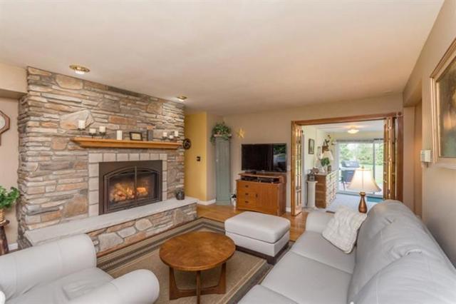 6640 Earhart Road - Fireplace