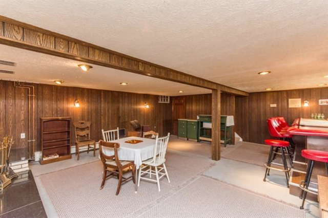 6640 Earhart Road - Lower Level Bar