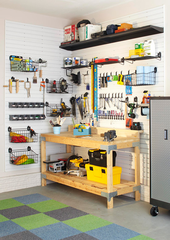 Tips to Organize your Garage in time for Father's Day ... on Organized Garage  id=56407